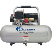 California Air Tools CAT-2050A, 1 HP, Hand Carry, 2 Gallon, Hot Dog, 120 PSI, 1.1 CFM, 1-Phase 110V