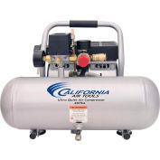 California Air Tools 2075A Ultra Quiet & Oil-Free 3/4 HP, 2 Gal. Aluminum Tank Air Compressor