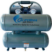 California Air Tools Portable Air Compressor CAT- 4610, Ultra Quiet & Oil Free, 110V, 1HP, 4.6 Gal