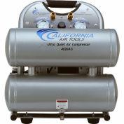 California Air Tools Portable Air Compressor CAT- 4620A, Ultra Quiet & Oil Free, 110V, 2HP, 4.6 Gal