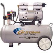 California Air Tools CAT-6010LFC,1 HP,Portable Compressor,6 Gallon,Horiz.,125 PSI,3 CFM,1-Phase 110V