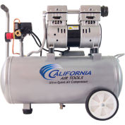 California Air Tools CAT-8010,1 HP,Portable Compressor,8 Gal,Horizontal,120 PSI,2.2 CFM,1-Phase 110V