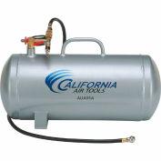 California Air Tools AUX05A, 5 Gallon Lightweight(Rust Free) Portable Aluminum Air Tank, Horizontal