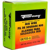 """Forney® ER70S-6 Mild Steel Solid MIG Welding Wire - .035"""" - 33 LBS. Spool"""