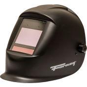 ForneyHide® Master Series™ 55709 -  Black Matte Auto-Darkening Welding Helmet