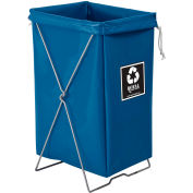 Hamper Kit, Blue Vinyl, Enviro Pocket