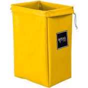 Hamper Bag, Yellow Vinyl, Standard Pocket