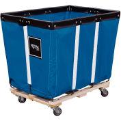 Perm Liner Truck, 8 Bu, Blue Vinyl, Wood Base, 2 Rg/2 Sw