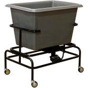 Royal Basket-Poly Scale Cart, 8 Bu, Gray - R08-GRX-STA-5UNN