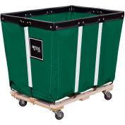 Perm Liner Truck, 10 Bu, Green Vinyl, Wood Base, 2 Rg/2 Sw