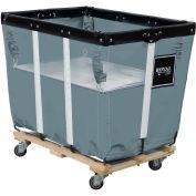 Spring Lift, 12 Bu, Gray, Fits Royal Basket Brand Vinyl and Canvas Basket Trucks