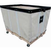 Heavy Duty Basket Truck, 20 Bu, Canvas, Wood Base, 2 Rg/2 Sw