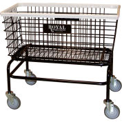 Wire Laundry Cart, Large, No Hanger