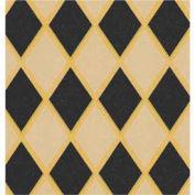 """Gift Wrap Paper, Black Diamonds/Kraft, 100'L X 24""""W"""