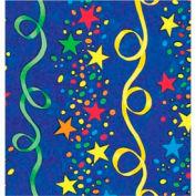 """Gift Wrap Paper, Stars & Streamers, 100'L X 24""""W"""