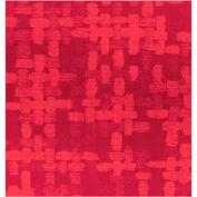 "Gift Wrap Paper, Red Spun Sheen, Embossed Foil, 833'L X 24""W"