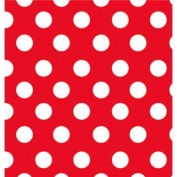 """Gift Wrap Paper, Cheery Dots, 833'L X 30""""W"""