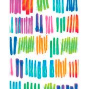 "Gift Wrap Paper, Watercolor Rainbow, 100'L X 24""W"