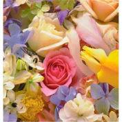 "Gift Wrap Paper, Floral Medley, 100'L X 24""W"