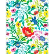 """Gift Wrap Paper, Summer Garden, Ultra Gloss, 100'L X 24""""W"""