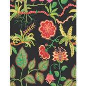 """Gift Wrap Paper, Silk Botanical Fantasy, Silk Sheen, 100'L X 24""""W"""