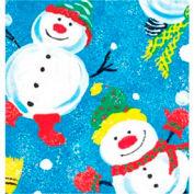 """Gift Wrap Paper, Frosty Friends, 100'L X 24""""W"""