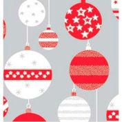 "Gift Wrap Paper, Skandia Ornaments, Metallized, 833'L X 24""W"