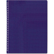 """Blueline® Poly Cvr Notebook B4182, 8-1/2"""" x 11"""", Blue Cover, 80 Sheets/Pad, 1 Pad/Pack"""