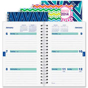 """Rediform Twin-wire Weekly Academic Planner 8"""" x 5-5/16"""" x 3/8"""" Assorted"""