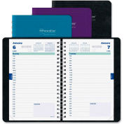 """Rediform 12-Month Daily Academic Planner 8-3/8"""" x 6"""" x 7/8"""" Assorted"""