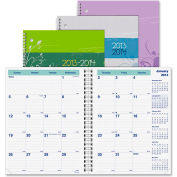 """Rediform Blossom Academic Monthly Planner 11"""" x 5/16"""" x 8-13/16"""" Floral"""