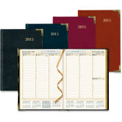 """Rediform Aristo Bonded-leather Weekly Executive Planner 11"""" x 8"""" x 5/8"""" Assorted"""