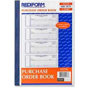 """Rediform® Purchase Order Book, 2-Part, Carbonless, 2-3/4"""" x 7"""", 400 Sets/Book"""