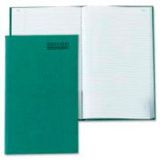 """Rediform® Record Book, Record Ruled, 6-1/4"""" x 9-5/8"""", Emerald Cover, 200 Pages/Pad"""