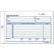 "Rediform® Delivery Receipt Book, 2-Part, Carbonless, 4-1/4"" x 6-3/8"", 50 Sets/Book"