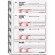 "Rediform® Money Receipt Book, 2-Part, Carbonless, 2-3/4"" x 7"", 300 Sets/Book"