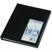 Blueline® NotePro Undated Daily Planner, 9-1/4 x 7-1/4, Black