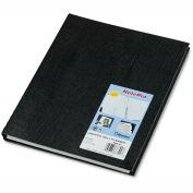 Blueline® NotePro Undated Daily Planner, 10-3/4 x 8-1/2, Black