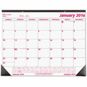Brownline® Desk Pad Calendar, Chipboard, 22 x 17, 2018