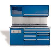 """Rousseau Metal GT Workcenter GT-C1052S_041, One Tool Box, 72""""W, Beige"""