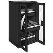"3 Drawer Tool Storage Cabinet for Taper 40 - 30""Wx27""Dx60""H Black"