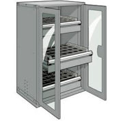"""3 Drawer Tool Storage Cabinet for Taper 50 - 36""""Wx24""""Dx60""""H Light Gray"""