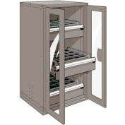 "3 Drawer Tool Storage Cabinet for HSK 50 - 30""Wx27""Dx60""H Light Gray"