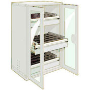 """3 Drawer Tool Storage Cabinet for 63 KM - 36""""Wx24""""Dx60""""H Beige"""