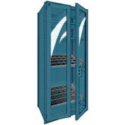 """Shelving for Taper 50 - 36""""Wx18""""Dx87""""H Everest Blue"""