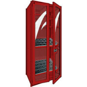 "Shelving for HSK 50 - 36""Wx24""Dx87""H Red"