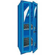 "Shelving for HSK 63 - 30""Wx24""Dx87""H Avalanche Blue"