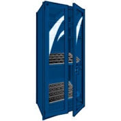 "Shelving for 50 KM - 36""Wx24""Dx87""H Avalanche Blue"