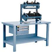 """Preparation and Repair Station for Taper 40 - 60""""Wx30""""Dx34""""H Everest Blue"""
