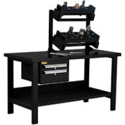 """Preparation and Repair Station for HSK 50 - 60""""Wx30""""Dx34""""H Black"""